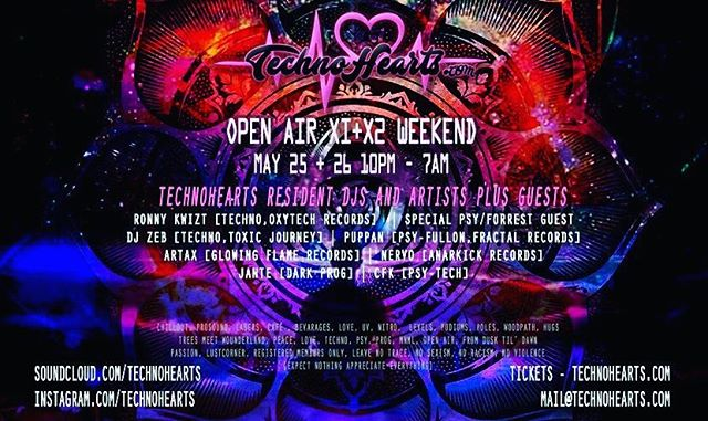 Slamming Techno  at  Open Air Weekend @technohearts @technohearts_records @bokaljud.nu
