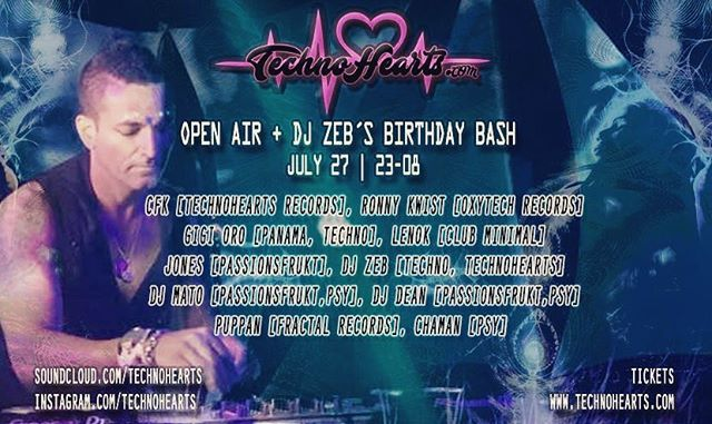 Spinning Techno at my Birthday Party / Open Air!  Swe plus International Djs @_just_gigi @djzebofficial @jonesgerdin @djmato72 @djdeansweden @djpuppan @ronny_kwizt @clubminimal @technohearts @technohearts_records @bokaljud.nu