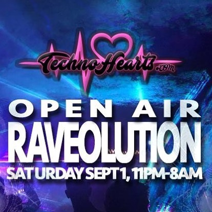 Its happening! September 1. 11Pm-8Am Dj Zeb plus 7 Djs  @technohearts